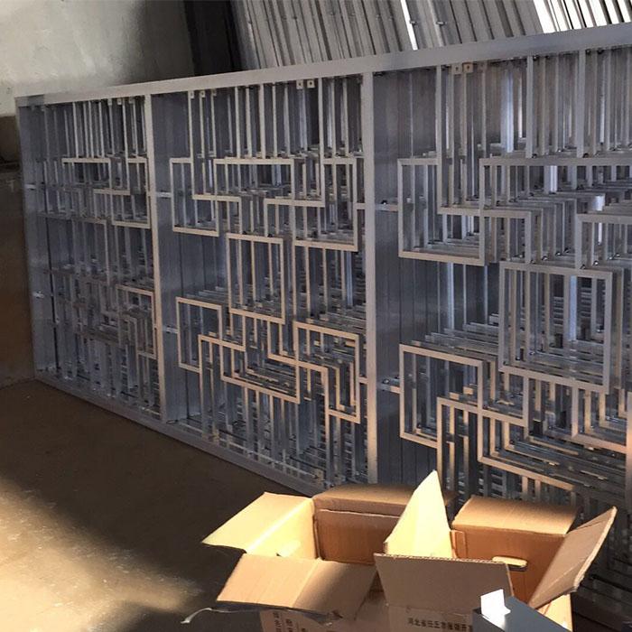 铝艺格栅围栏